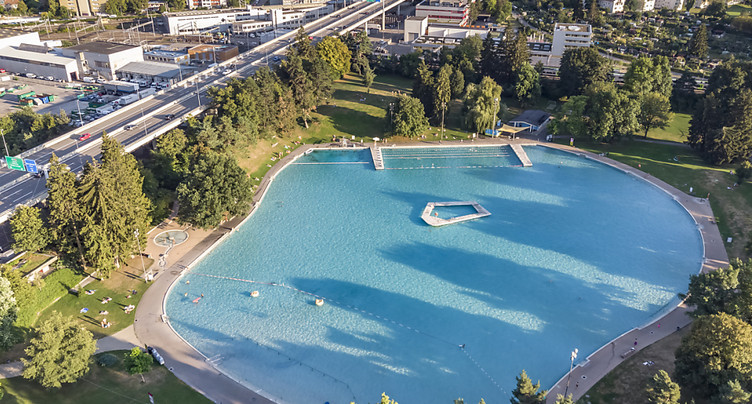 La ville de Berne abrite la plus grande piscine d'Europe