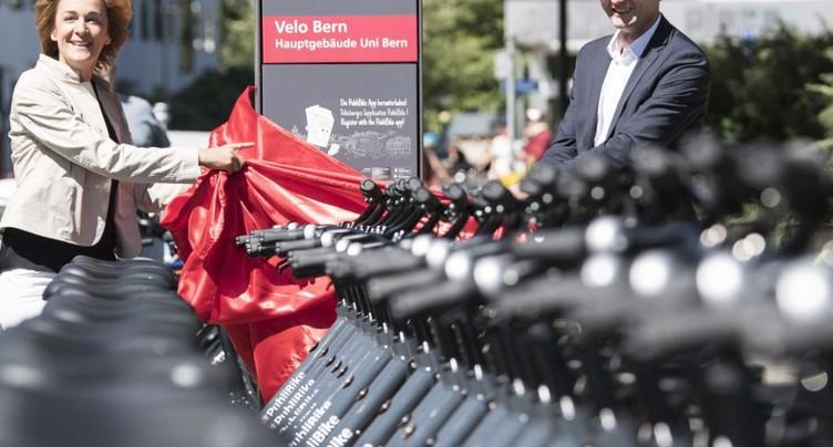 PubliBike retire tous ses vélos des rues bernoises