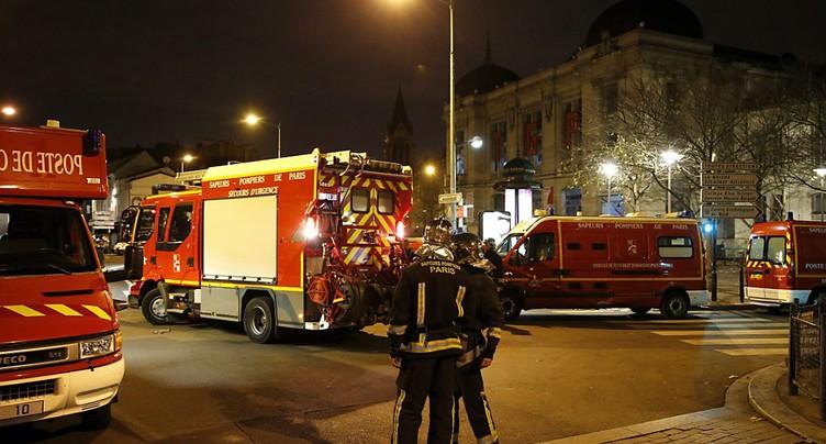 Incendie près de Paris: nombreux blessés graves, dont cinq enfants