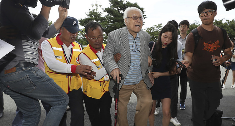 Des Sud-Coréens en route vers le Nord pour retrouver leurs familles