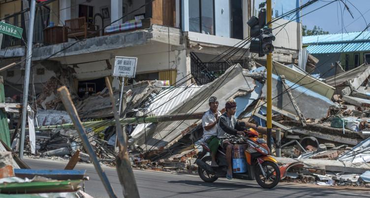 De multiples séismes frappent l'île de Lombok, cinq morts