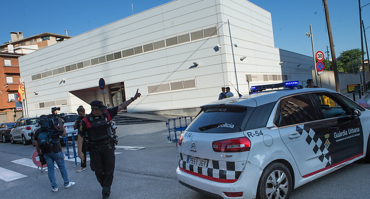 Un homme armé d'un couteau tué en attaquant un commissariat dans le nord de l'Espagne