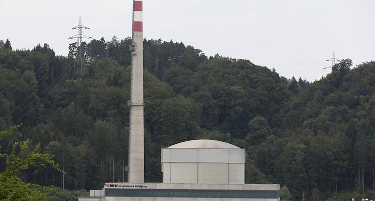 Dernière révision annuelle pour la centrale nucléaire de Mühleberg