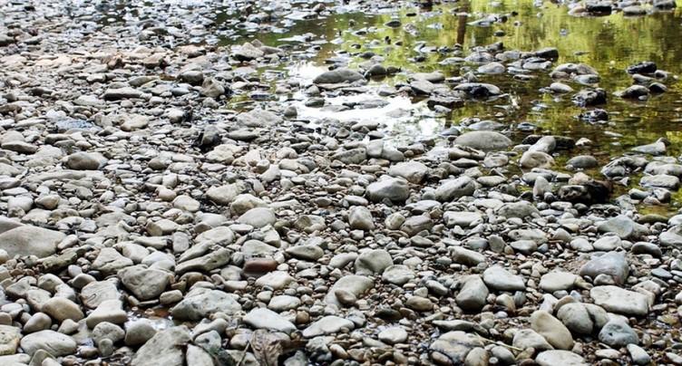 Niveau des cours d'eau très bas et pas d'amélioration en vue