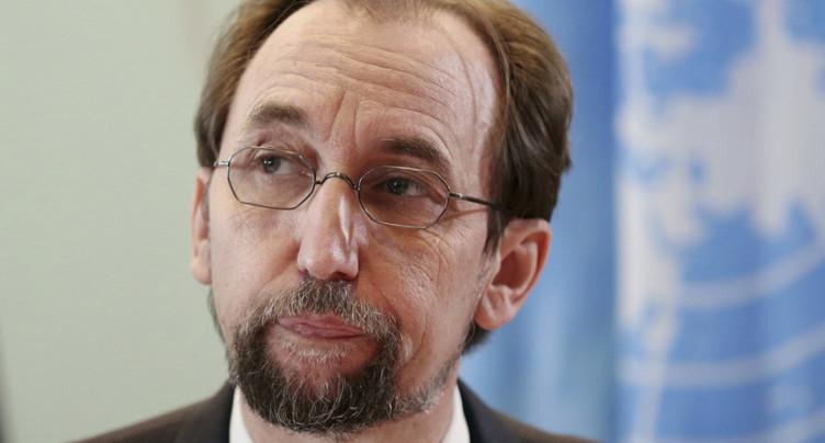 Le chef des droits de l'homme encourage sa successeur à dénoncer