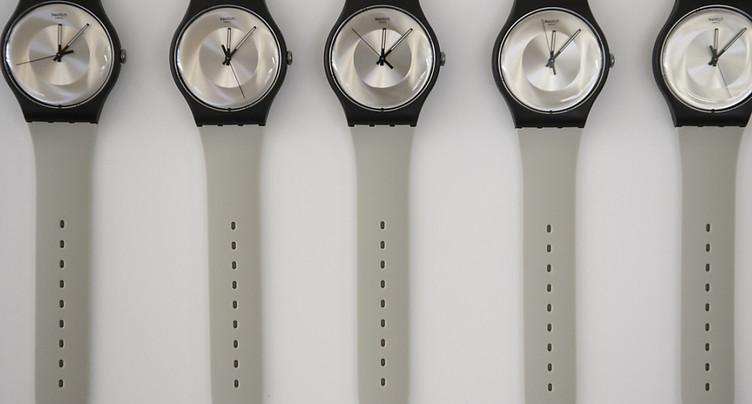 Nouvelle croissance des exportations horlogères en juillet