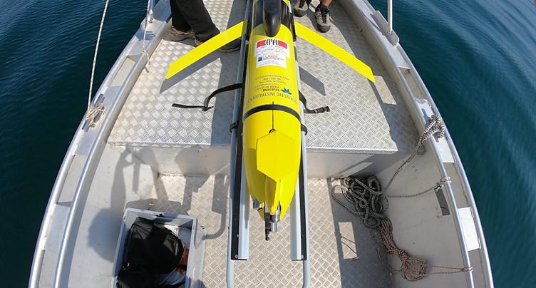 Un planeur sous-marin sonde les tourbillons du lac Léman