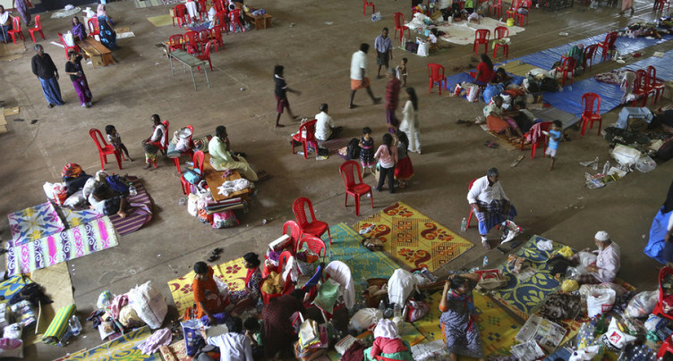 Un million de déplacés dans les camps du Kerala sous les eaux en Inde