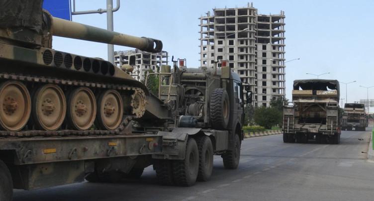 La Turquie envoie de nouveaux renforts militaires à Idleb