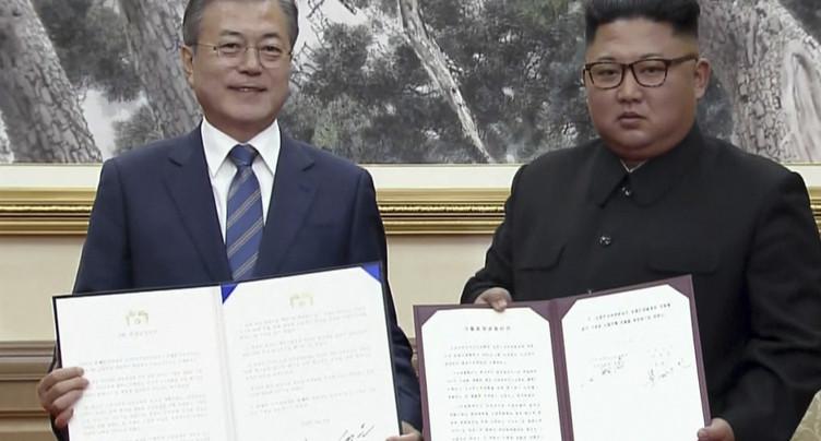 Accord intercoréen sur la dénucléarisation de la région