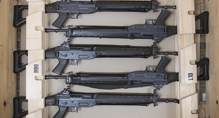 La loi sur les armes passe la rampe des Chambres fédérales