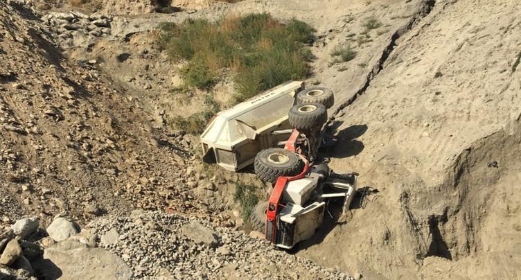 Un machiniste décède dans une gravière de Rarogne (VS)