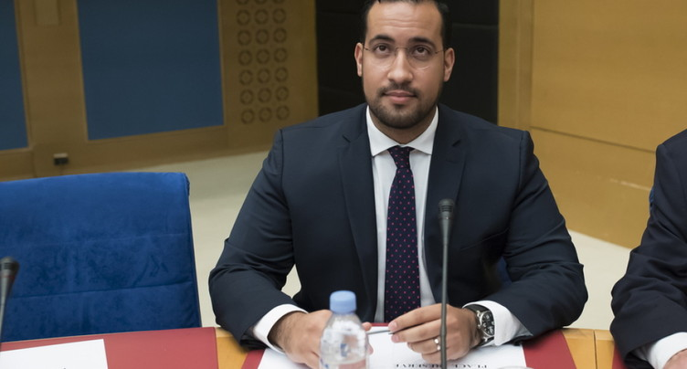 France: Alexandre Benalla en audition devant la commission du Sénat