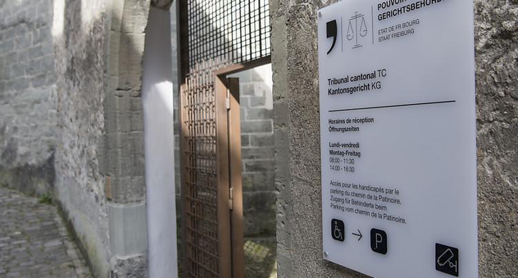 Fribourg: peine confirmée pour l'homme qui a étranglé son épouse