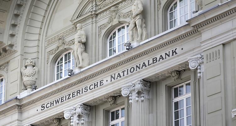 La BNS révise en nette hausse son attente de croissance
