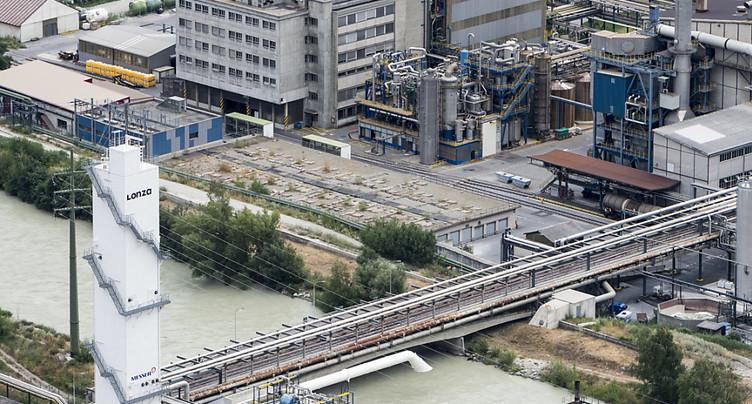 Lonza investit 400 millions de francs dans son site de Viège