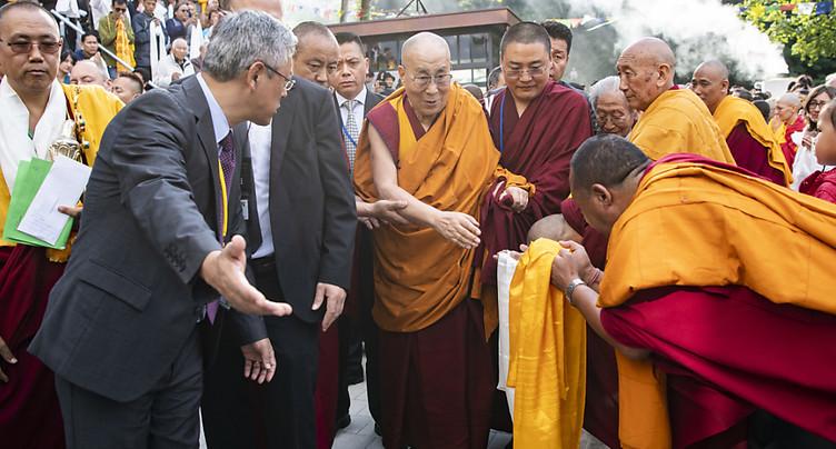 Le dalaï-lama accueilli à l'Institut tibétain de Rikon (ZH)