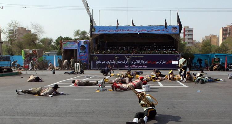Plusieurs morts dans une attaque contre un défilé militaire en Iran