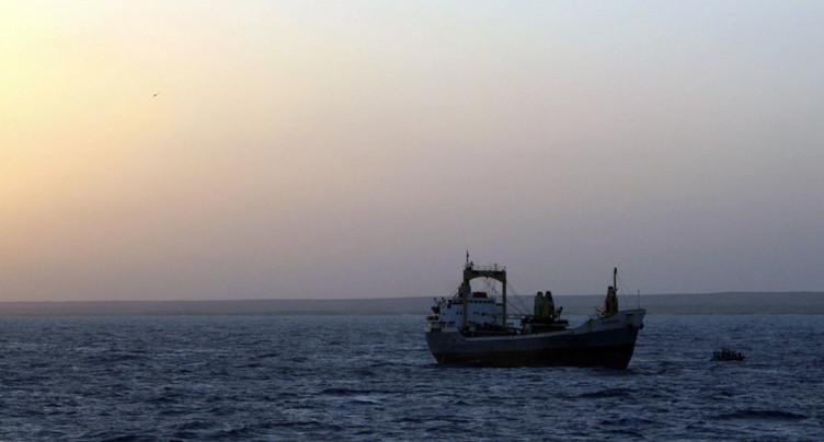 Enlèvement d'une partie de l'équipage d'un navire suisse