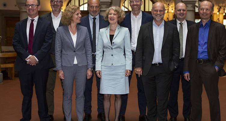 La ville de Zurich conserve neuf membres à son exécutif