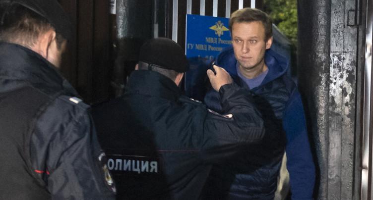 L'opposant Alexeï Navalny arrêté dès sa sortie de prison