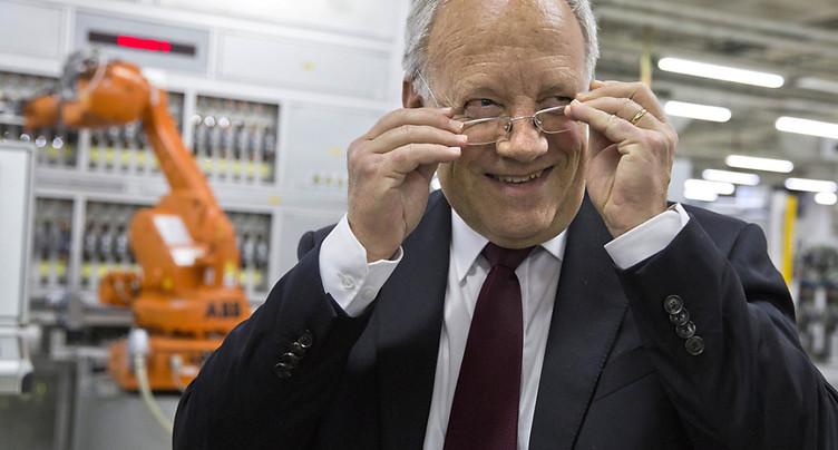 Johann Schneider-Ammann démissionne