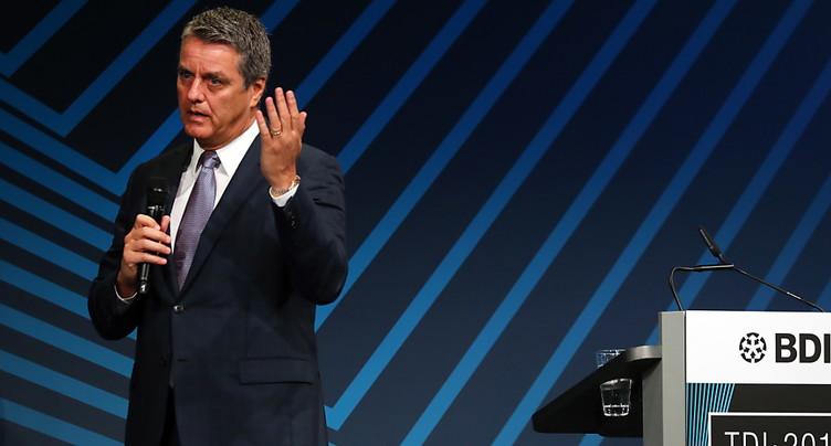 Le directeur général de l'OMC salue l'action de Schneider-Ammann