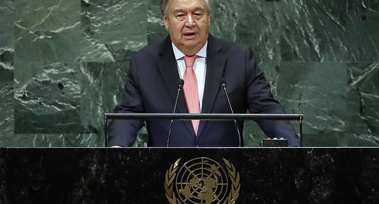 Antonio Guterres déplore « un monde de plus en plus chaotique »