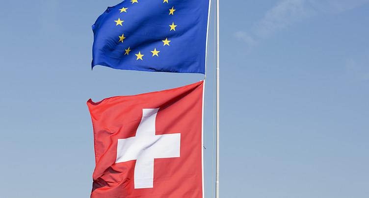 Les Suisses sont favorables à un accord-cadre avec l'UE