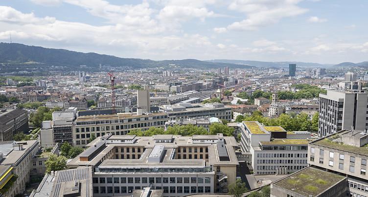 L'Université de Zurich remonte au classement mondial THE