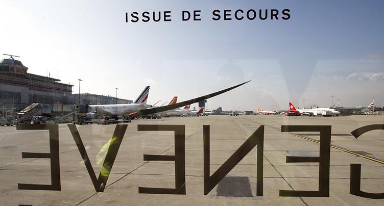 Atterrissage d'urgence à Genève à cause d'une odeur de fumée