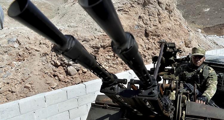 Tirs au mortier depuis la zone tampon en Syrie malgré le retrait des armes lourdes