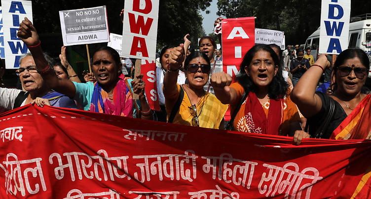 Un ministre indien rejette des accusations de harcèlement sexuel