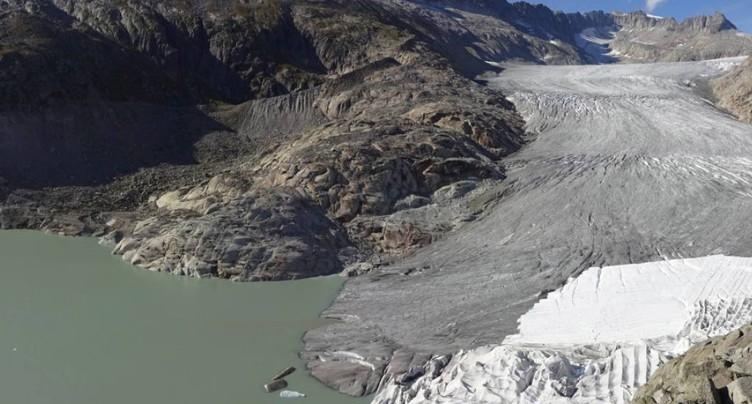 Les glaciers ont souffert de l'été caniculaire