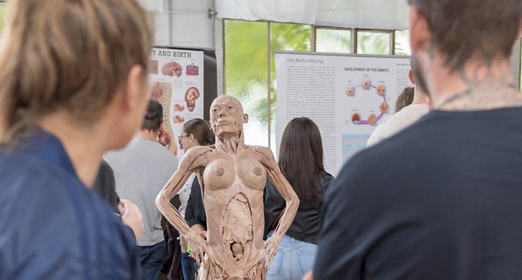 L'exposition Real Human Bodies pas autorisée à Lausanne