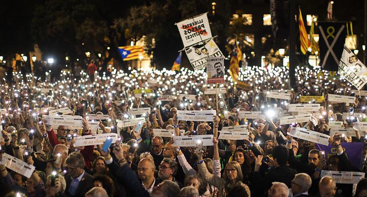 Manifestations de partisans de l'indépendance en Catalogne