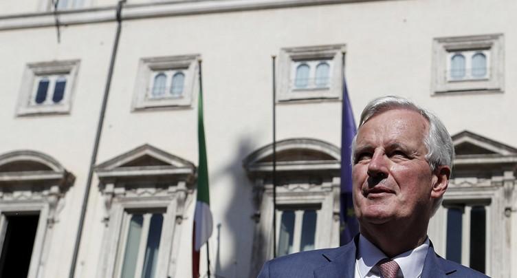 Brexit: Barnier propose de prolonger la transition d'un an