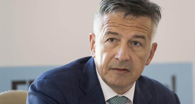 Hans Wicki (PLR/NW) est candidat au Conseil fédéral