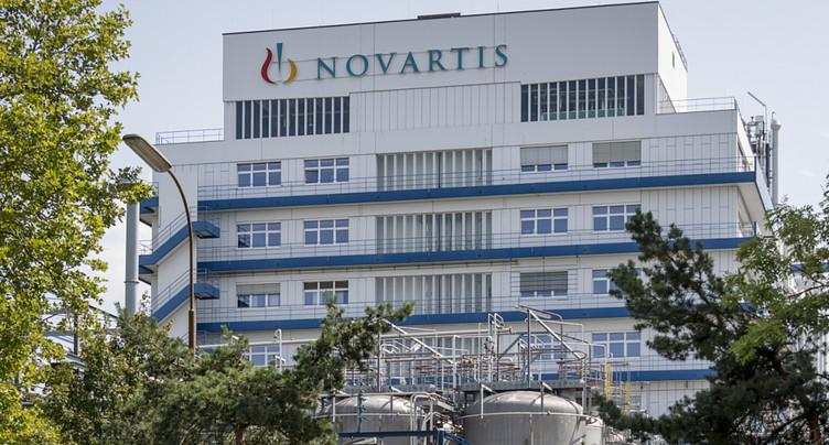 Novartis accuse un ralentissement de sa croissance au 3e trimestre