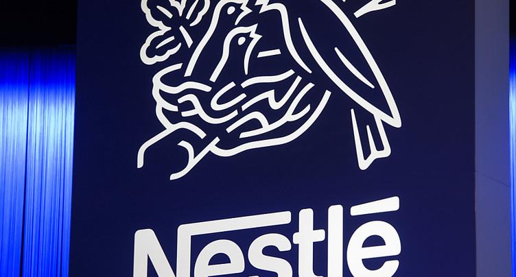 Nestlé a vu ses ventes progresser sur neuf mois