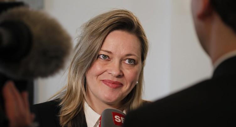 Heidi Z'graggen candidate à la succession de Doris Leuthard