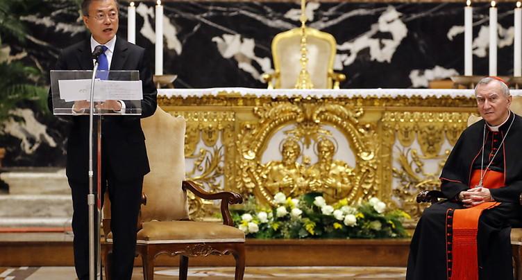 Le pape François officiellement invité en Corée du Nord