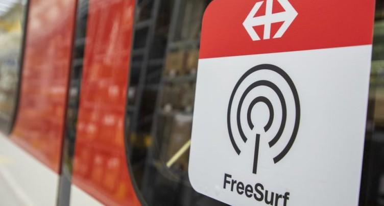 Les CFF vont tester l'internet gratuit dans les trains dès 2019