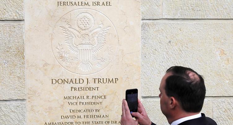 Représentation US auprès des Palestiniens à l'ambassade à Jérusalem