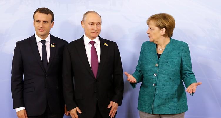 Erdogan réunit Poutine, Macron et Merkel sur la Syrie