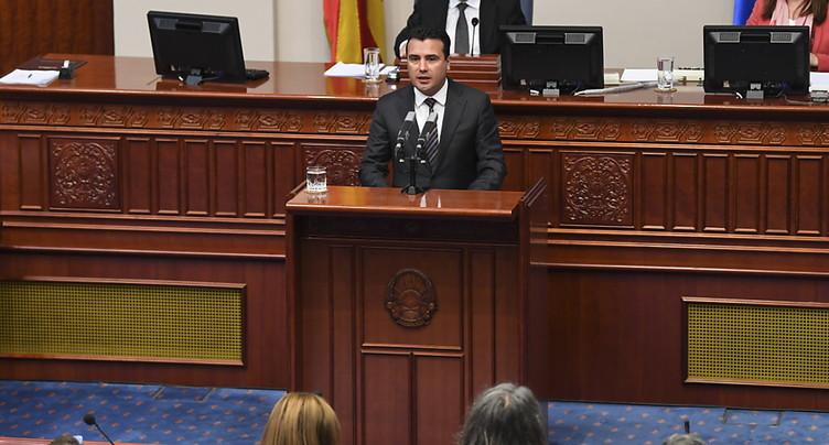 Le changement de nom de la Macédoine approuvé par le Parlement