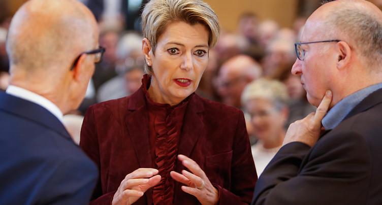 Karin Keller-Sutter adoubée par le PLR st-gallois
