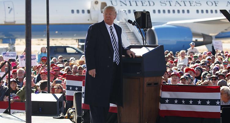 Trump confirme le retrait américain d'un traité nucléaire