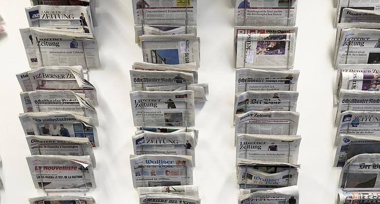 La qualité des médias en Suisse a diminué, selon une étude