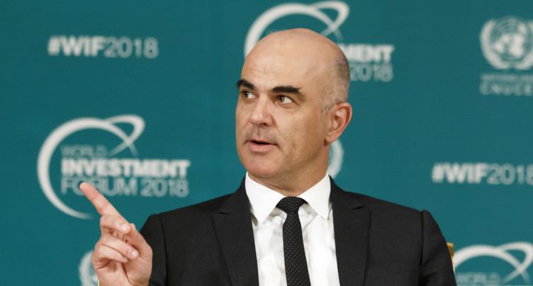 Autodétermination: Berset qualifie l'initiative d'anti-prospérité